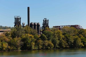 The remaining Carrie iron furnaces