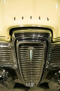 The Edsel, Ford thought they had a handle on what America wanted, more chrome, more power, bigger better car... it failed miserably.